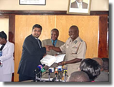 CSR Activity at Kenyan Prisoners